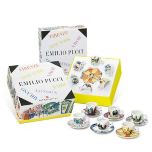 set 6 tazzine illy art collection emilio pucci