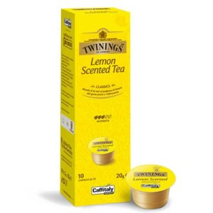 Capsule originali Caffitaly Twinings tè the lemon scented tea