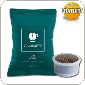 Lollo Caffe Dec compatibile Espresso Point 100 Capsule