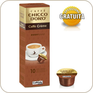 Caffitaly Caffe Chicco D'Oro Caffe Creme 10 Capsule
