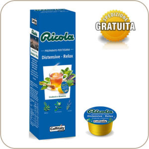 Caffitaly Ricola Tisana Distensive Relax 10 Capsule
